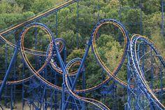 Vortex Roller Coaster at King's Island just outside Cincinnati, Ohio.  So much fun