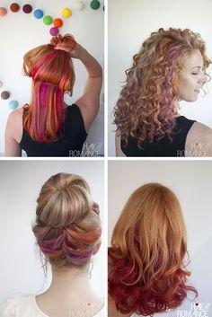 Hair Romance - crazy hair colour changes