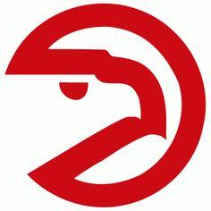 Old Atlanta Hawks logo #nba so awesome... lets bring it backkkk RETRO ;)