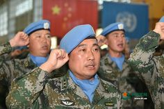 The 4th Chinese Peacekeeping Force is leaving for their duty in the Republic of Mali. They are ready to leave their families.