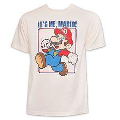 Nintendo It's Me, Mario! T-Shirt - Off-White