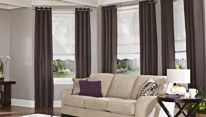 Window Treatments and Curtains... Ceiling to floor
