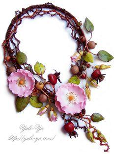 Necklace   Yuli-Ya  wow, so pretty!