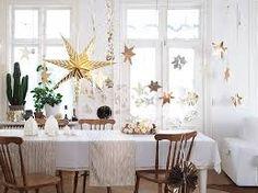 Resultado de imagen de navidad blanco y dorado