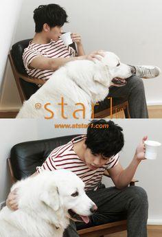 Kim Soo-hyun for star1 April 2012