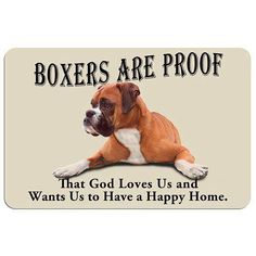 God loves us!! (boxer)
