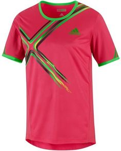 Adidas AdiZERO Mens Tennis T-Shirt Shirt Top XL -V39041 by adidas. $39.99. The adidas adiZERO tennis top will carry you to matchpoint, provide freedom to maneuver the court and rally with finesse in style. Save 38% Off!
