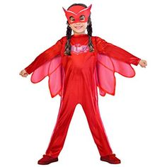 From Pj Masks Superhero Kids Child Owelette Fancy Dress Costume & Mask Years) Fancy Dress Costumes Kids, Superhero Fancy Dress, Fancy Dress For Kids, Dress Up Costumes, Girl Costumes, Superhero Kids, Pj Masks Kostüm, Pj Masks Pajamas, Pj Mask Disfraz
