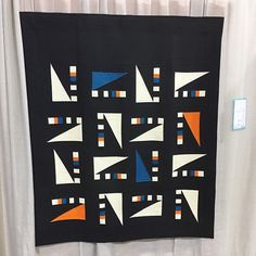 Corner Windows by Jerriann Massey #quiltcon #quiltcon2017 #Regram via @curatedquilts