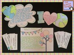 Fun Earth Day Writing Activities Freebie