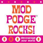 Mod Podge formula guide - I didn't even know how many types there were until I was wandering Michael's yesterday!