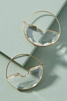 Anthropologie Temperance Hoop Earrings