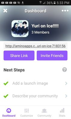 Join this Yuri on Ice Amino if you love Yuri on Ice. (I mean if you want I'm not forcing you)  Link: http://aminoapps.com/c/yuri-on-ice-7183156