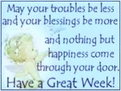 have a great week quotes quote angel days of the week