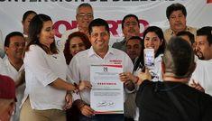 """""""Cuando se quiere, se puede"""": Roberto González es candidato oficial por el PRI"""