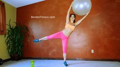 Melissa Bender Fitness: Round and Sculpted Butt Stability Ball Workout Minutes) Stability Ball Exercises, Band Exercises, Glute Exercises, 30 Minute Workout, Workout Videos, Workout Abs, Boxing Workout, Fitness Goals, Fitness Fun