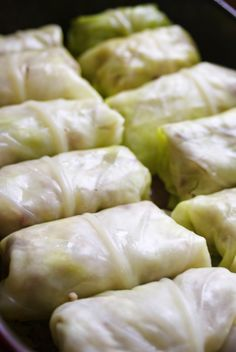#AIP stuffed cabbage rolls served with a pomegranate reduction sauce / Wholesome Foodie <3