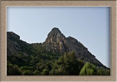 The village San Pantelo at the Costa Smeralda in the north of Sardinia.