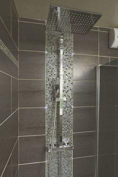 Emilies Dusche in Thumeries – diy bathroom ideas Bathroom Remodel Shower, House Bathroom, Bathroom Interior Design, Bathroom Decor Apartment, Modern Bathroom, Basement Toilet, Farmhouse Bathroom Mirrors, Luxury Bathroom, Bathroom Decor