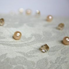 KAYLA -ILLUSION NECKLACE with Crystals and Pearls
