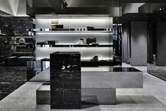 Les Hommes flagship store by Piuarch, Milan – Italy