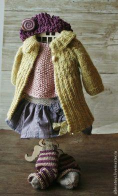 Artesanal boneca.  Mestres justo - bonecas artesanais vestiário Waldorf.  Handmade.