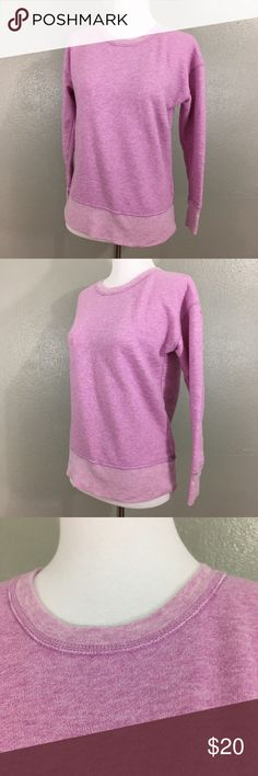 J Crew Vintage Sweatshirt Lavender Purple Beautiful soft purple J. Crew vintage sweatshirt size extra small.  Item is in excellent condition with no known flaws! Please check out my other listings as I do offer a bundle discount, I love offers!  The measurements of my mannequin are: Bust: 32.5 inches Waist: 25 inches Hips: 34 inches J. Crew Tops Sweatshirts & Hoodies