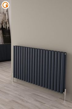 Upgrade your home heating in an instant with this Milano Aruba Ayre Aluminium Anthracite Horizontal Designer Radiator. Heating up five times faster than a steel alternative, this attractive aluminium radiator is efficient and stylish and will leave your room warm and toasty in no time. Shop now at BestHeating.🔥 Kitchen Radiator, Decorative Radiators, Horizontal Designer Radiators, Tiled Hallway, Roof Insulation, Solid Brick, Cinema Room, Types Of Rooms, Aluminum Radiator