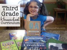 How is it possible that we have a third grader? Wow. I've definitely felt a push to kick things up a notch educationally this year. And you know what? Emma is excited about it. We've spent some time over the past few weeks researching and reviewing books and materials. We even let her choose from a few [...]