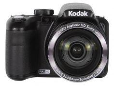 "Baixa de preços: De R$ 1.149,00 por R$ 1.049,00 Câmera Digital Semiprofissional Kodak PixPro AZ362 - 16.1MP Display 3"" Zoom Óptico 36x Filma Full HD"