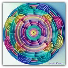 Mandala 8 Quilling