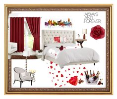 """""""I Love You. Always ❤️"""" by styling4life on Polyvore featuring interior, interiors, interior design, home, home decor, interior decorating, Three Hands, Trademark Fine Art, Philips and Frango"""