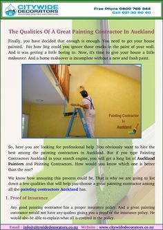 If you are looking for painting companies in Auckland. It's hard to choose a great painting contractor among all the painting contractors Auckland has. So we are here to provides you great qualities painters in Auckland.