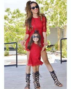 105 Best Mom   Daughter matching outfits images  285670095c1e