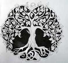tree of life - if this could be turned into a silhouette it would be perfect