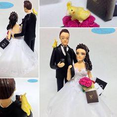 🎀 #noivinhospersonalizados 🎀 #caraarteembiscuit #casamento ❤️ #animaisdeestimação #calopsita #compras #vestidodenoiva #noivas #noiva #wedding #weddingdress #weddingcake #weddingcaketopper #topodebolo #noivinhos #noivas #universodasnoivas #casamentos #buquedenoiva 😘Orçamentos: caraarteembiscuit@yahoo.com.br, ou mensagem inbox na págjina https://facebook.com/caraarteembiscuit