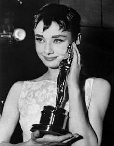 Pin for Later: The Most Talked-About Dresses of All Time Audrey Hepburn in Givenchy at the 1954 Academy Awards