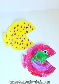 Fish Paper Plate Craft for kids- FSPDT