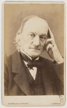 Sir Richard Owen, between 1874-1881 / photographer Barraud & Jarrard, London. From the collections of the State Library of NSW
