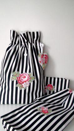Lingerie bag or travel bag and shoe bagsdrawstring by grandmaland