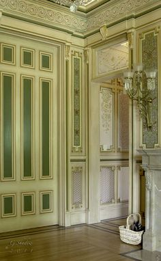 Artistic License News: Decorative Painting at the Historic MacDonald Mansion #bradburywallpaper
