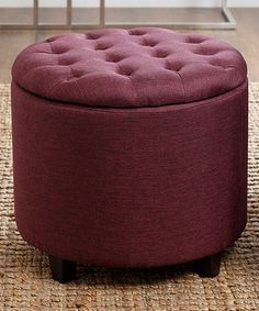 Look what I found on zulily Deep Creek Rolling Storage Ottoman