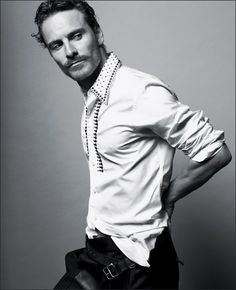Without any Shame, he regaled us about A Dangerous Method. What an Inglorious Basterd! Michael Fassbender.