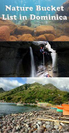 Nature Bucket List in Dominica