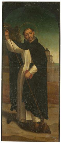 Saint Dominic / Santo Domingo de Guzmán // Segundo tercio del siglo XVI // Juan Correa de Vivar // #Dominicanes #DominicanOrder