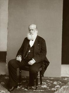 Brasil - Retrato de D. Pedro II. Por Marc Ferrez, cerca de 1885. Rio de Janeiro, RJ