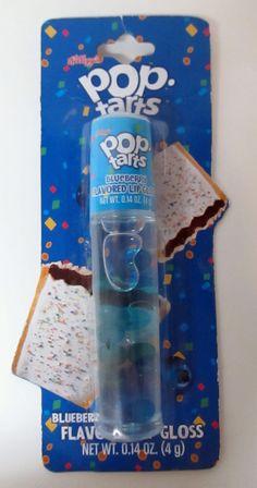 Kellogg's Pop Tarts BLUEBERRY Flavored Lip Gloss by Lotta Luv .14 oz / 4g NIP #LottaLuv
