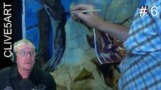 Painting Trees Thomas Gainsborough in acrylic Diary # 6 acrylic painting...