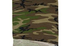 Camouflage Print Knit Jersey Fabric 24 inches length PDK00425