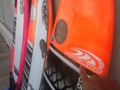 PIPELINE Surf Team member Ikaika Freitas new quiver of surfboards ready to hit the waves.